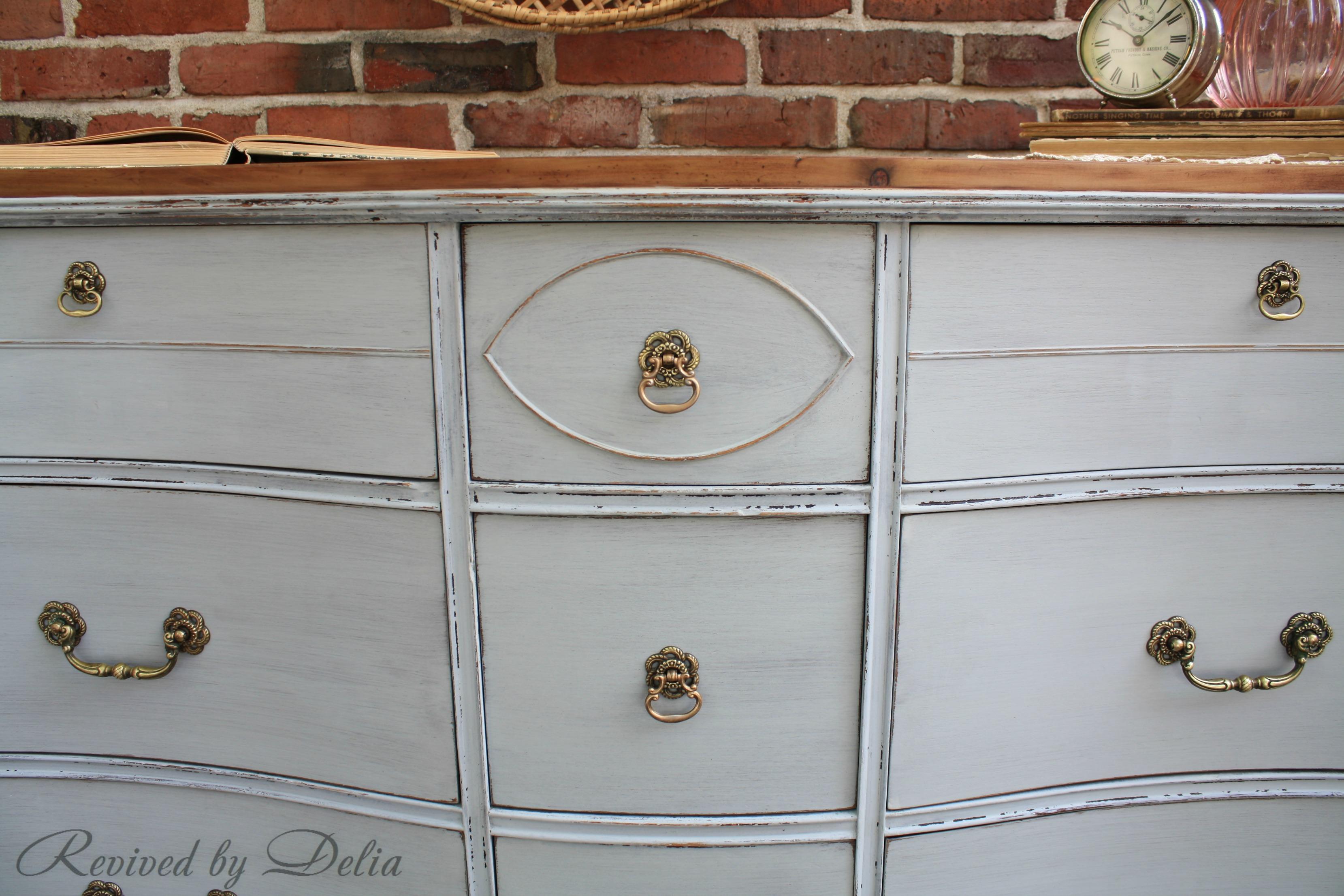 Light Grey Milk Paint Dresser