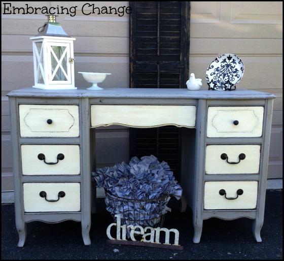 Two tone Desk 1 - Embracing Change